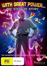 The With Great Power - Stan Lee Story (DVD, 2017)