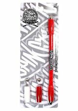 NEW Pen Spinning Mod (Spinsticks) One Color Red (A0) Made By Pendolsa