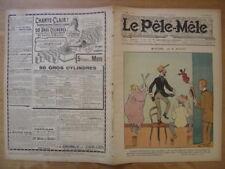 1904 LE PELE MELE 44 Avelot mystere Benjamin Rabier ISSU D'UNE RELIURE