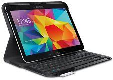 """Logitech Ultrathin Keyboard Folio Case for Samsung Galaxy Tab 4 10.1"""" (Black)"""