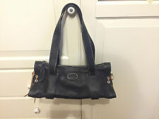 TODS Tasche Damentasche Leder Schwarz TOD'S bag leather black new neu