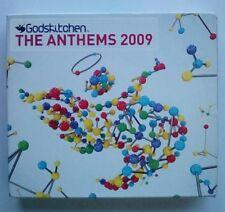 GodsKitchen The Anthems 2009 Three CD Set God's Kitchen
