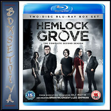 HEMLOCK GROVE - COMPLETE SEASON 2  **BRAND NEW BLU-RAY**