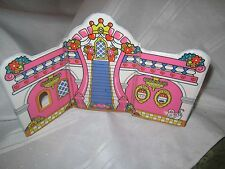 Fisher Price Little People Avon Cinderella Fairy godmother backdrop fence castle