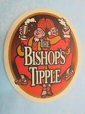 Beer Bar COASTER <> WYCHWOOD (Marston's) The Bishop's Tipple ~*~ Witney, ENGLAND