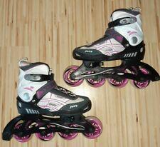 Hudora Inline Skates für Mädchen  verstellbar von Gr. 34 bis 37