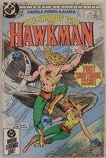 SHADOW WAR HAWKMAN 1-4 DC MINI COMIC SET COMPLETE ISABELLA HOWELL 1985 VF/NM