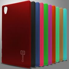 For Sony Xperia Z5 Hard Case Slim Rubberized Matte Snap On Back Phone Cover