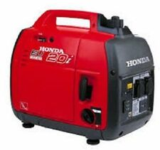 HONDA EU20 GENERATOR SERVICE AND USER MANUALS ON CD