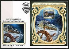 CHAD  2017  105th ANNIVERSARY  OF THE TITANIC SINKING  S/S  FIRST DAY COVER