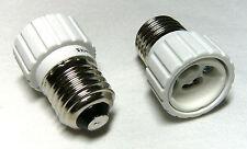 1x Adapter Leuchtmittel Glühbirnen Glühlampen >>> Fassung E27 auf GU10