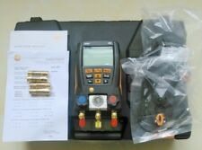 New Testo 550 Refrigerant Digital Manifold Tester For 0563 1550+2 Clamp Probes