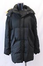 River Island Men's Kane Longline Puffa Parka Jacket HD3 Black Medium NWT $200
