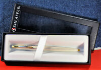 """Sheaffer""  Rare Silver flame pattern&GT  Ballpoint Pen Made in US c.1978's"