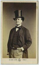 CDV 1860-70 Léon Crémière & Cie à Paris. L'acteur Pierre-Chéri Lafont.