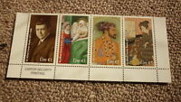 2018 IRELAND POST MINT STAMPS, IRELAND ALFRED CHESTER BEATTY SET OF 4 STAMPS MNH