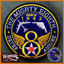 "8th Air Force ""The Mighty Eighth"" Authentic Patch, B-52, B-2, Barksdale AFB USAF"