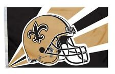 New Orleans Saints 3x5 Flag - Helmet Design [New] Nfl Banner Sign Fan Wall