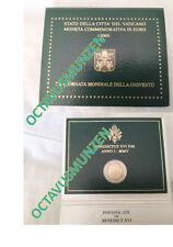 Cartera 2 euros conmemotativos Vaticano 2005 Vatikan