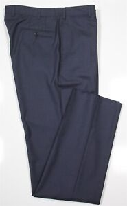 New! Ermenegildo Zegna Current 10-Pocket Trousers Navy Blue Wool Pants 34