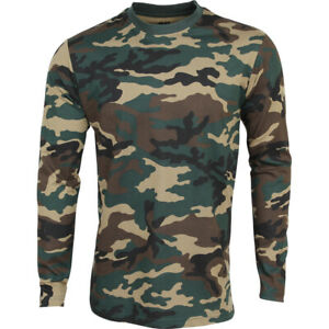 Tactical T-shirt L / S Russian Military Field Equipment Army Paintball Airsoft