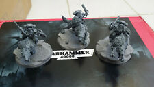 Warhammer 40k Space Wolves Space Marines Thunderwolf Cavalry x3 SEE DESCRIPTION