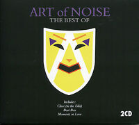 THE BEST OF ART OF NOISE - 2 CD BOX SET - BEAT BOX, MOMENTS IN LOVE & MORE