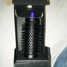 DYSON Airwrap Hair Styler Attachment Round Volumizing Brush Black/Purple NIB
