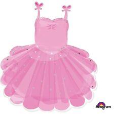 "28"" Ballerina Tutu SuperShape Mylar Foil Balloon Party Decorating Supplies"