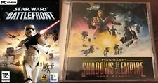 star wars battlefront & shadows of the empire     new&sealed