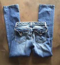 womens gap jeans 1969 size 0 xs pants 25 curvy flare euc denim 5 pocket fun cute