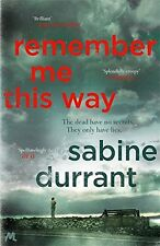 Remember Me This Way by Durrant, Sabine | Paperback Book | 9781444762488 | NEW