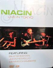 Niacin - Live In Tokyo NEW! DVD,Jazz Fusion Rock,Billy Sheehan,Dennis Chambers