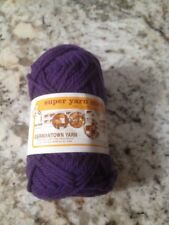 Super Yarn Mart! Germantown Yarns 4 ply Spun From 100% Pure Virgin Wool