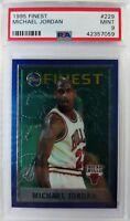 1995 96-97 Topps Finest Michael Jordan #229, Graded PSA 9 Mint !
