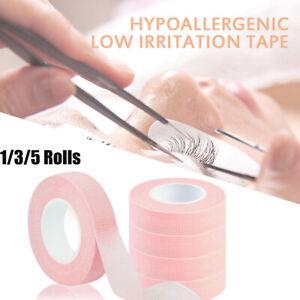 1/3/5 Roll Non-Woven False Eyelash Extension Tape Anti-Allergy Easy Tear Tapes