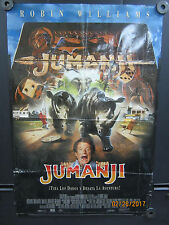 "Jumanji Robin Williams  Original FoldedBack Lit One Sheet Poster 1995  27"" x 40"""