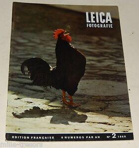 LEICA Fotografie Edition française N°2 de 1969 : Erich VETTER - ELMARIT 1 de 2.8