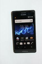 Sony Xperia go ST27i - 8GB - Schwarz (Ohne Simlock) Smartphone