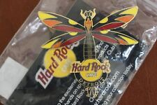 Hard Rock Cafe Detroit Dragonfly Pin NEW IN ORIGINAL PACKAGE