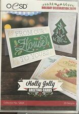 Oesd Embroidery Designs - Holly Jolly Greeting Cards Cd