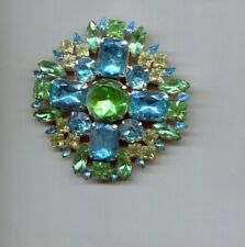 Albert Blue Green Maltese pin