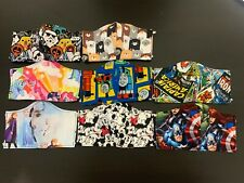 Licenced Fabric Face Mask Reusable Washable Frozen Starwars Aventure Comic Pony