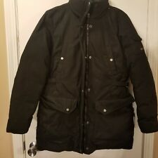 MARC by Marc New York Down Men Coat Size Meduim Black Zipper Insulated Pockets