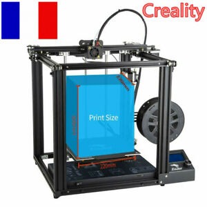 Used Creality Ender 5 3D Printer 220X220X300mm Dual Y-axis 3D Printer