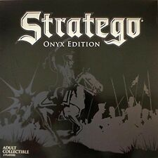 Stratego Onyx Edition Adult Collectible 2 Players Barnes & Noble Exclusive