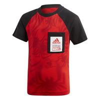 Adidas Kinder T-Shirt Jungen Training Marvel Laufen Spinne Lifestyle DV0832 Neu