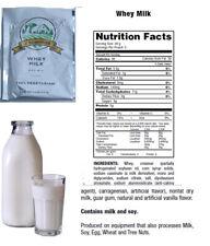 Emergency Survival Food WHEY MILK 5-Serving Pouch 100% Vegetarian Best by 2033