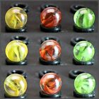 """4 Marbles Confetti by Mega Vacor 5/8"""" Retired  Collectible FREE DOMESTIC SHIP"""