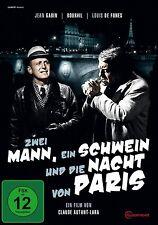 LOUIS DE FUNES - ZWEI MANN,EIN SCHWEIN UND DIE NACHT VON PARIS  DVD NEU